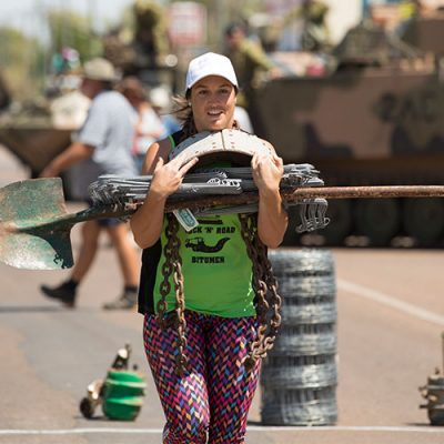 Outback iron woman event
