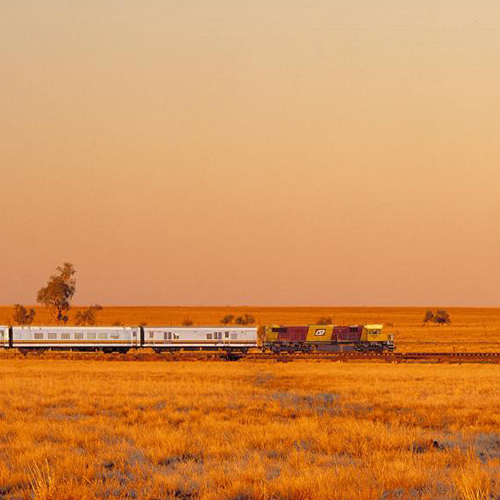 spirit of the outback train to longreach
