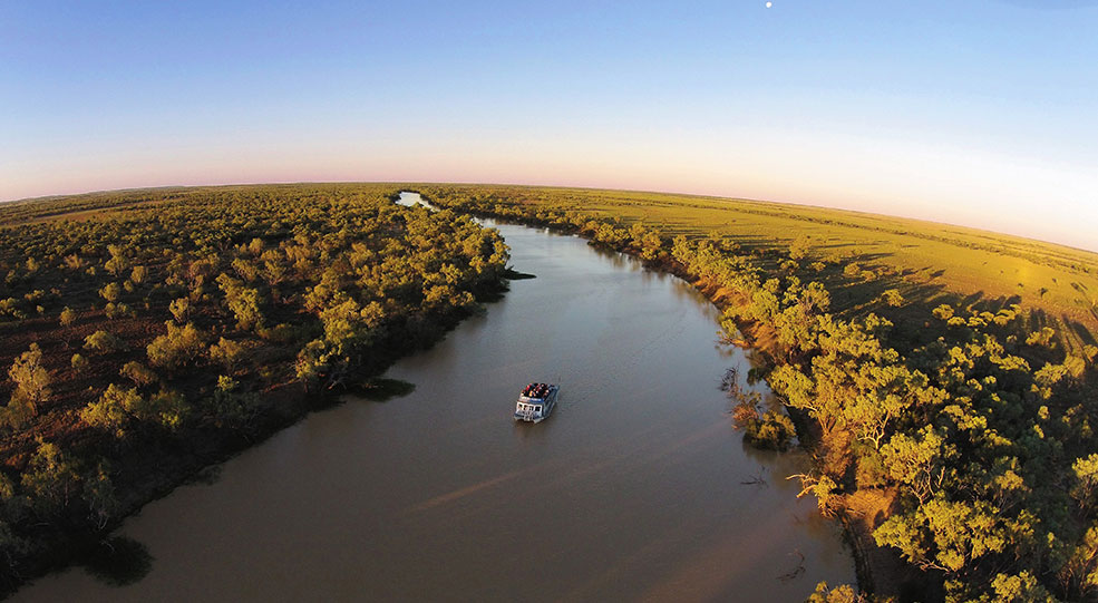 Drovers Sunset Cruise in Longreach