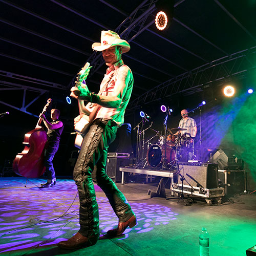 Entertainment at Outback Festival