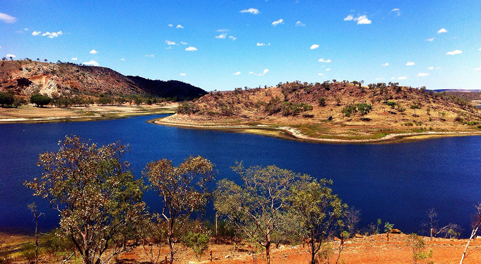 Lake Moondarra water sports in Mount Isa