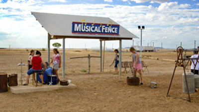 The Musical Fence in Winton