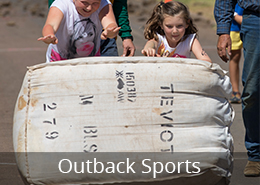 Outback Sports Wool Bale Rolling