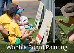 Wobble Board Painting