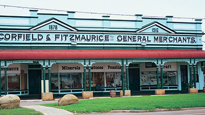 Corfield and Fitzmaurice general store