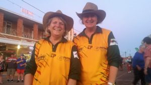 Des and Leonne - Outback Festival Volunteers