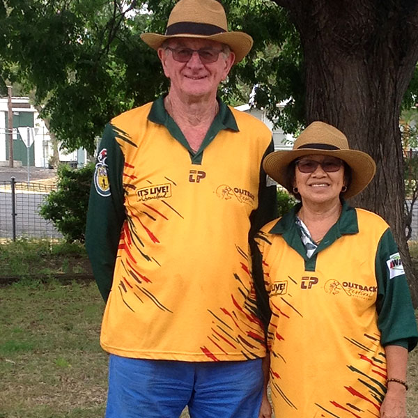 Outback Festival volunteers from 2017