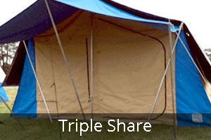 Club Paterson Tent City Tripe Share tent