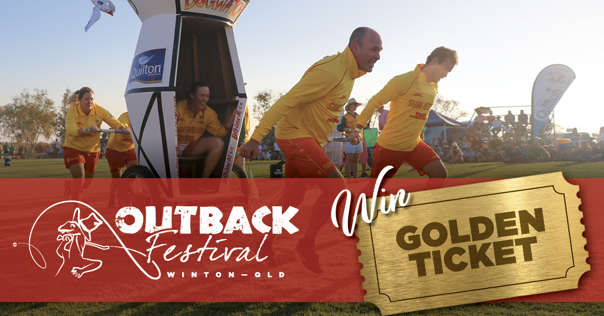 Win a golden ticket for Outback Festival 2019