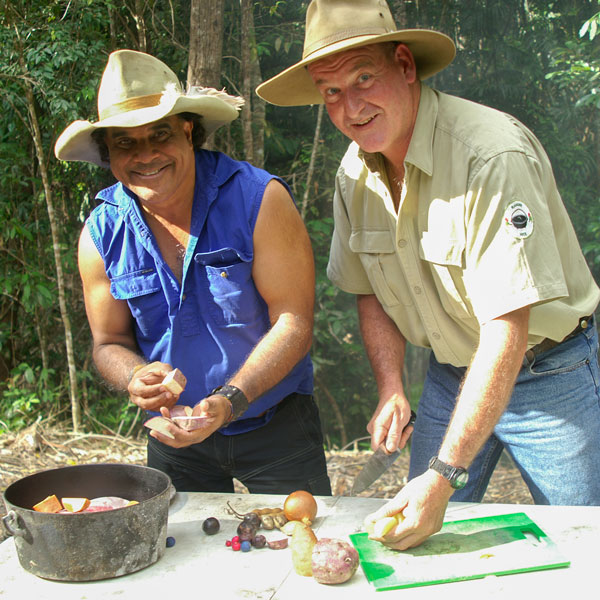 David Hudson & Ranger Nick Cooking