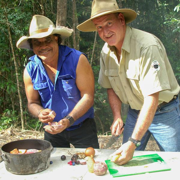David Hudson & Ranger Nick Cooking