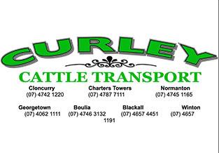 Curley Cattle Transport logo