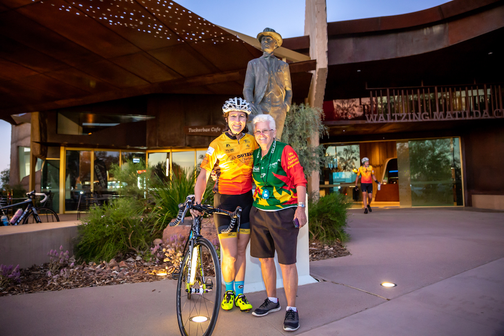 Outback Century Cycle at Watlzing Matilda Centre