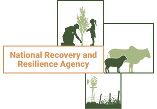 National Resilience and Recovery Agency logo