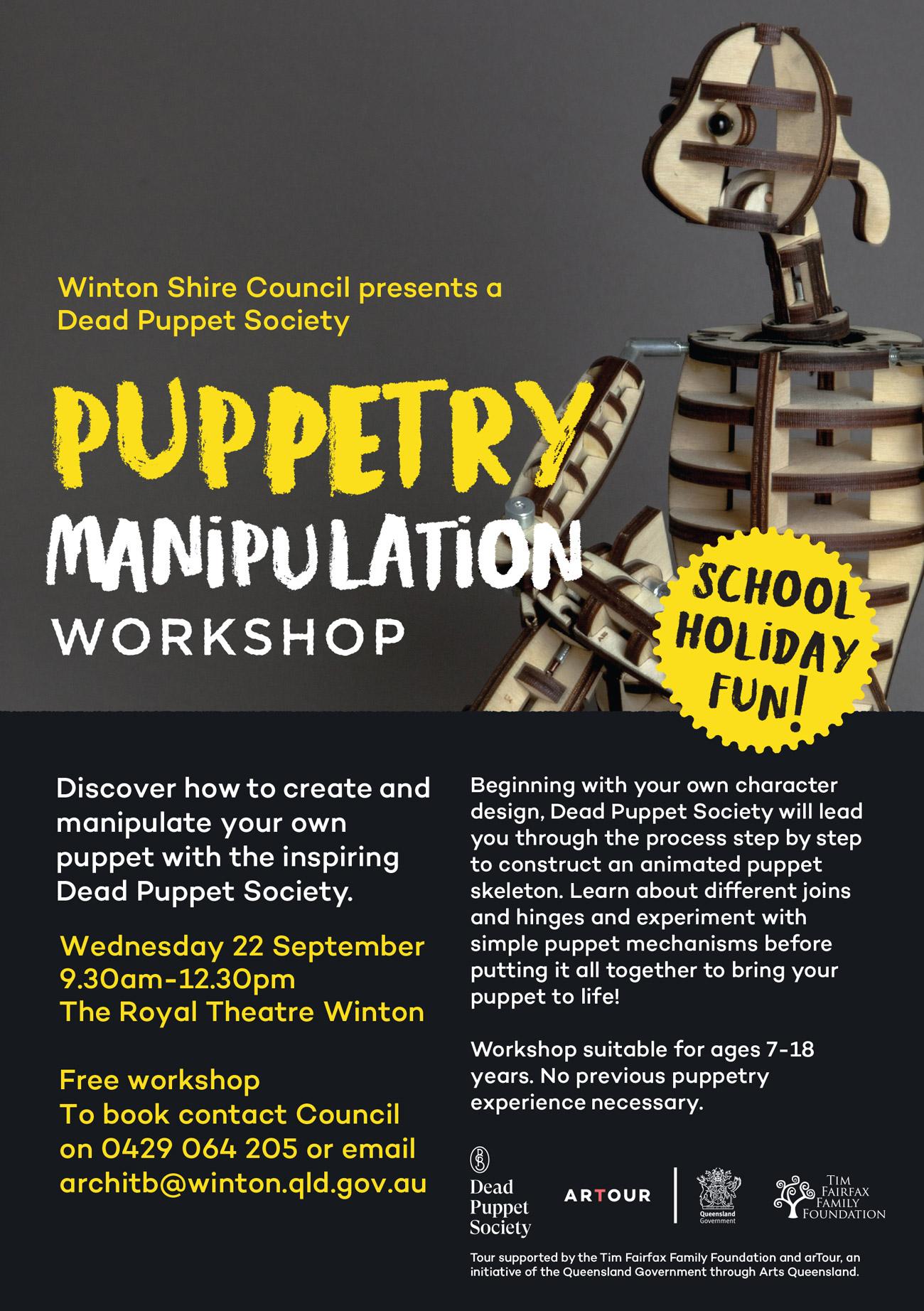 puppetry manipulation workshop