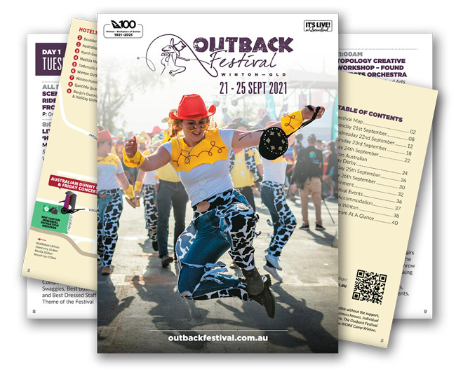 Outback Festival 2021 Official Program